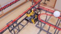 乐高 roller coaster track-a 68-meter GoPro trip Lego积木砖家评测
