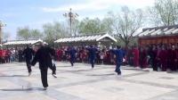 《武当太极剑》2017年鹤壁樱花节太极专场^棉丰站、浚县队