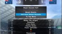PS2实况足球2012(美版) 友谊赛 澳大利亚 VS 新西兰