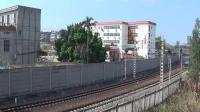 2021年春节大年初一拍火车——HXD1C0567电狒狒牵引下行混编货列离开玉林站