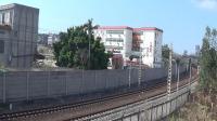 2021年春节大年初一拍火车——SS70036烧鸡牵引下行货列离开玉林站