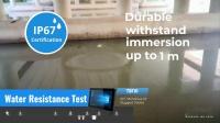 unitech TB110工业平板电脑 耐用测试