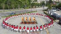 云南昆明市西山区快乐健身舞蹈队  《今夜舞起来》一年一度火把节   彩排