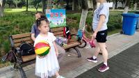 新区公园,宝宝和妈妈的英语对话.2021.6