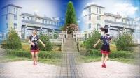 好心情蓝蓝广场舞原创【260】现代舞 DJ【从此正背面】附教学