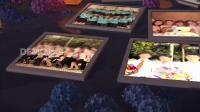 ae片头 pr模板 582怀旧优美湖面同学毕业纪念电子相册展示视频片头ae模板 视频制作