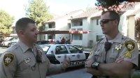 看看美国警察如何对付挑衅警察的电话男