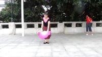 妞妞学跳广场舞-扇子舞风含情水含笑