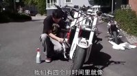 【翘头艺术】里的车手ernie的访谈【中文字幕】