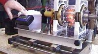 带你领略涡轮喷气发动机内部——玻璃外壳涡轮喷气发动机