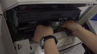 scenesun 南天PR2E打印机 更换色带架墨带步骤演示视频