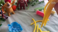 熊出没饿了制作面条玩具亲子游戏宝妈