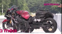 NOS Hayabusa EXPLODES in a ball of flame at full speed GSX1300R 隼