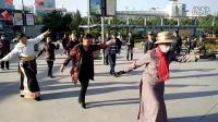 西宁中心广场藏族锅庄视频8《吉祥谣》
