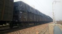 【丙申年廿八】京局丰段HXD3B0088牵引货列通过枣南弯道