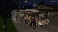 OMSI2 巴士模拟 新车体验MANSU313