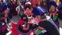 彝族结婚彝族电影彝族歌曲【卢飞、阿西伍甲】婚礼录像上集2