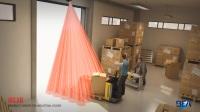 MILAN工业门安全保护传感器,安装高度可达 5 米。