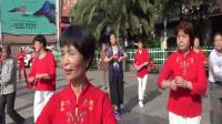 侧面拍摄 泰和长寿健身队广场舞晨练 2019.5.29