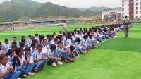 望谟县第六中学2016级军训