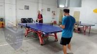 乒乓球比赛祥哥VS振华