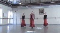 芭蕾舞 瓦岗诺娃学校2010年性格舞课考试 Olga Smirnova