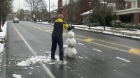 雪人拦路!屌丝冬季新游戏