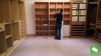 定制家具安装——书柜