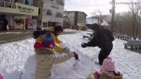 北海道超冷湖做雪人 日本之旅 下雪当然要做雪人啊 好可爱的一起出去玩啰 北海道游乐趣 sunny yummy的玩具箱
