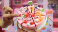粉红猪小妹玩具小猪佩奇和乔治一起DIY蛋糕 智趣亲子