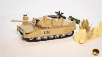 LEGO 乐高 铁血坦克团-勒克莱尔 乐高积木魔拼