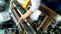 喜多力喷码机Ci3300在变压器上的喷码黄墨过程变压器喷码机变压器黄墨喷码机-广州蓝新