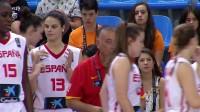 2017年女篮U19世界杯第7名赛:中国vs西班牙