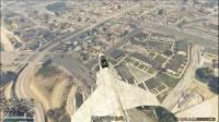 威廉《GTA5》 用战斗机运货