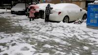 2018年武汉的第一场大雪