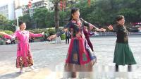 梧州花如景广场舞 2021,2,7《苗乡侗寨》