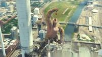 科幻片:《狂暴巨兽》这是一只很社会的猩猩,皮到主人拿它没办法
