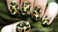 Camouflage Nails (No Tools Required)