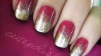Effie Trinket Nail Art (The Hunger Games)
