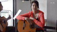 深圳吉他 FD吉他教室韩国女生翻唱艾薇儿