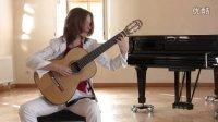 巴赫无伴奏小提琴奏鸣曲 BWV1003 Allegro-伊兹科娃 【古典吉他】