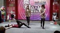 美女表演特技的爵士舞之梦幻嘉年华