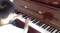 洋洋挑战八级音阶速度 学琴不到一年 201207065