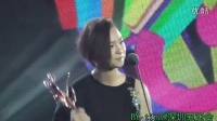 20140413音乐风云榜周笔畅领取最佳女歌手奖