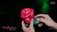 国外魔术气球 玫瑰花