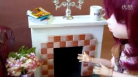 娃物自制-壁炉