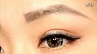 【小二胖KIWI】简单双色眼影 超快速眼妆1分钟教程