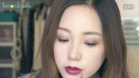 紫色魅惑小烟熏妆容 | Lemondrizzle
