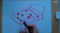 儿童画床的画法根李老师学画画