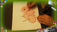 山楂可以这么画,儿童水彩笔简笔画的步骤流程,乐成宝贝